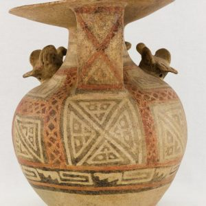 UCLA Fowler Museum Collection: X88.847 Recuay vessel back view