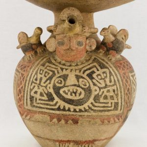 UCLA Fowler Museum Collection: X88.847 Recuay vessel front view
