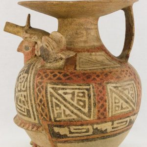 UCLA Fowler Museum Collection: X88.847 Recuay vessel left view