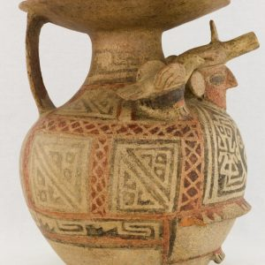 UCLA Fowler Museum Collection: X88.847 Recuay vessel right view
