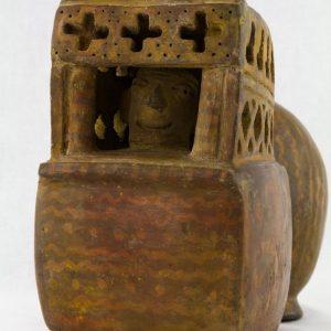 UCLA Fowler Museum Collection: X88.848 Viru/Gallinazo vessel detailed view