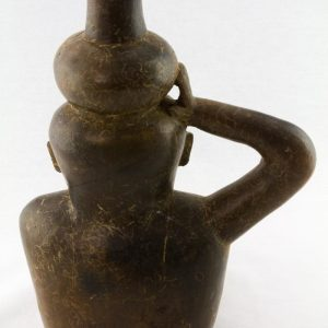 UCLA Fowler Museum Collection: X88.851 Chavin vessel back view
