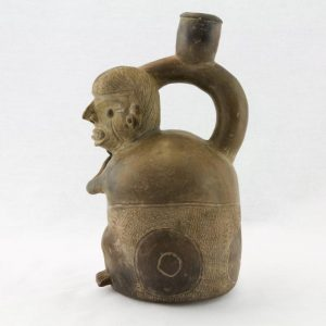 UCLA Fowler Museum Collection: X88.852 Chavin vessel left view