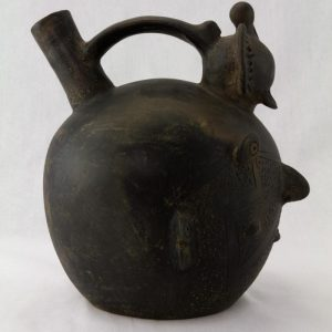 UCLA Fowler Museum Collection: X88.854 Salinar vessel right view