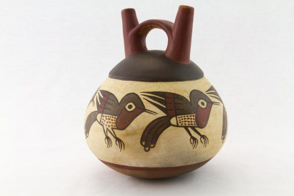 UCLA Fowler Museum Collection: X88.855 Nasca vessel angle view