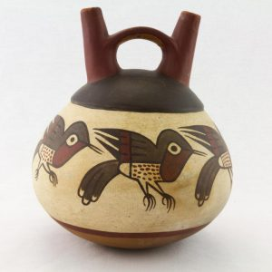 UCLA Fowler Museum Collection: X88.855 Nasca vessel back view
