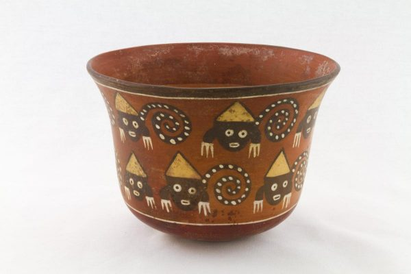 UCLA Fowler Museum Collection: X88.857 Nasca vessel back view