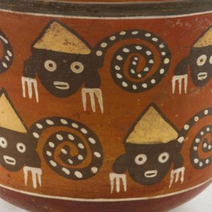 UCLA Fowler Museum Collection: X88.857 Nasca vessel detailed view