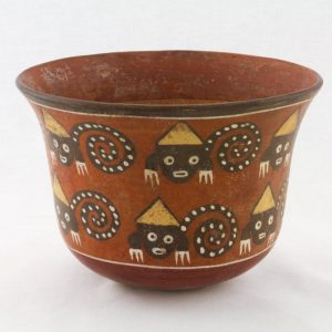 UCLA Fowler Museum Collection: X88.857 Nasca vessel front view