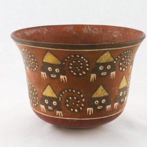 UCLA Fowler Museum Collection: X88.857 Nasca vessel left view