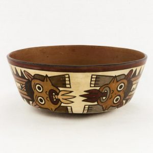 UCLA Fowler Museum Collection: X88.859 Nasca vessel back view