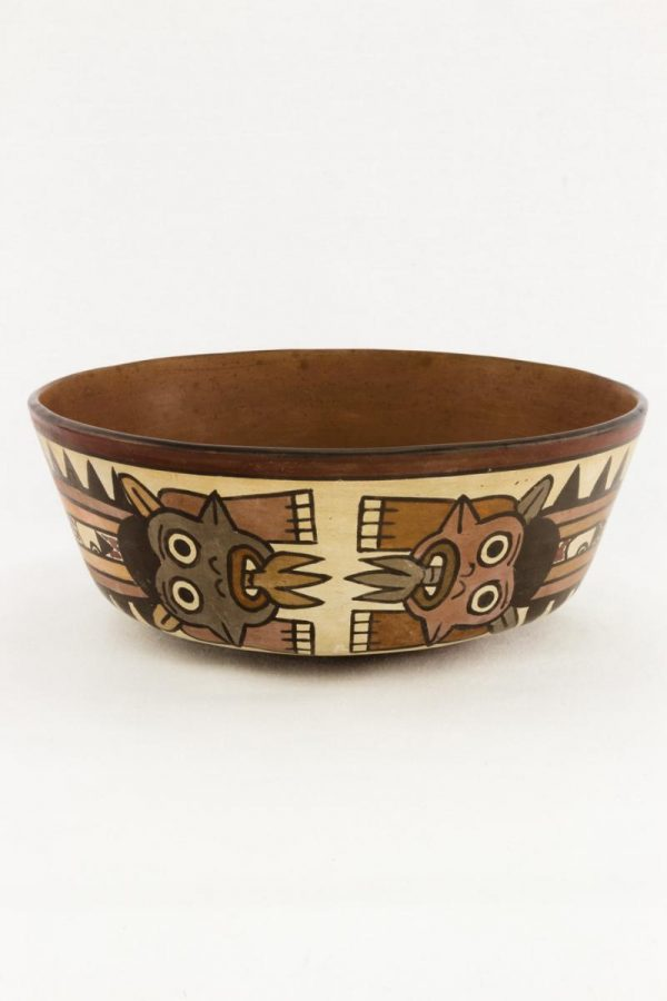 UCLA Fowler Museum Collection: X88.859 Nasca vessel front view