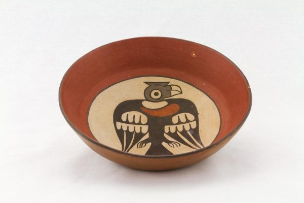 UCLA Fowler Museum Collection: X88.860 Nasca vessel top view
