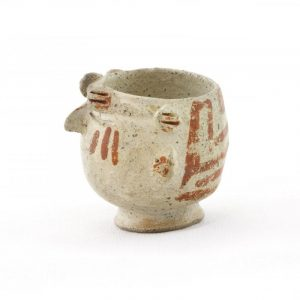 UCLA Fowler Museum Collection: X88.876 Recuay vessel left view
