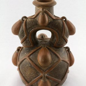 UCLA Fowler Museum Collection: X88.913 Chavin vessel back view