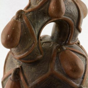 UCLA Fowler Museum Collection: X88.913 Chavin vessel detailed view