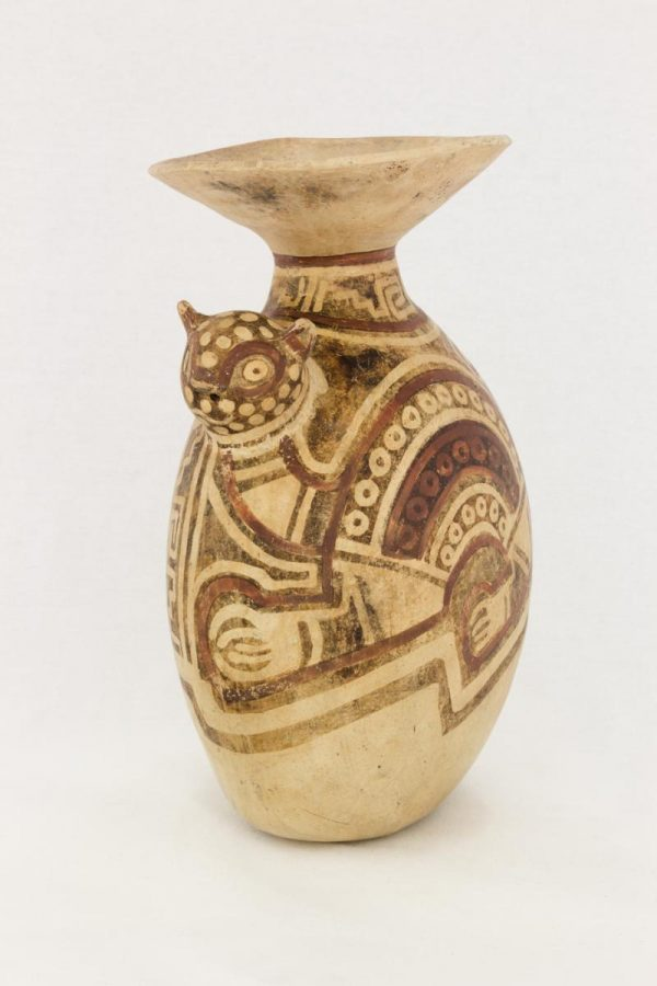 UCLA Fowler Museum Collection: X89.755 Recuay vessel detailed view