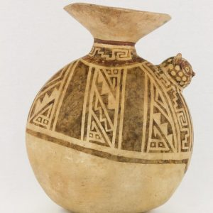 UCLA Fowler Museum Collection: X89.755 Recuay vessel left view