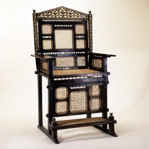 UCLA Fowler Museum Collection: X89.367 Chair of power (kiti cha enzi)
