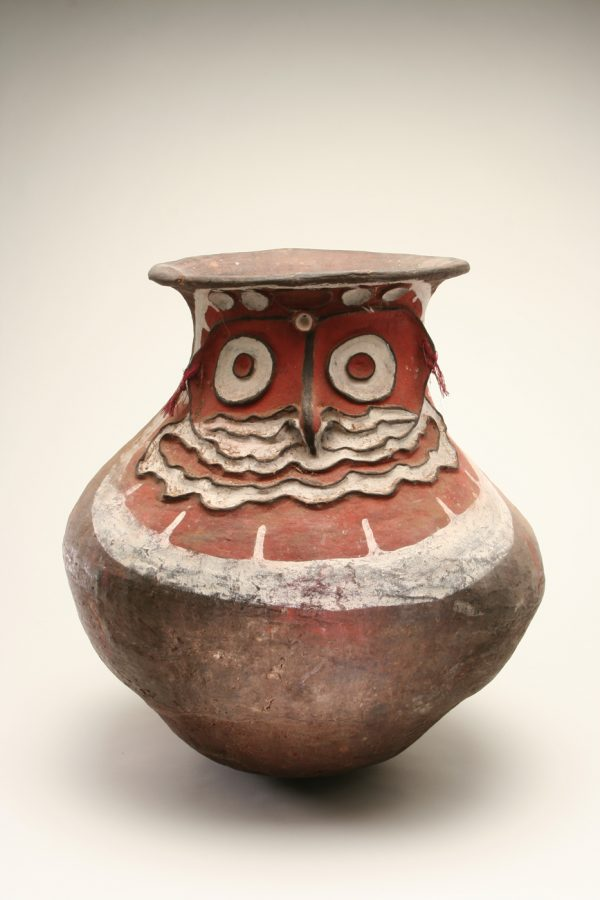 UCLA Fowler Museum Collection: X89.705 Sago storage jar (au)