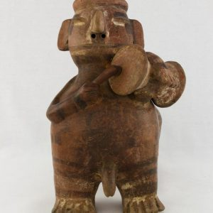 UCLA Fowler Museum Collection: X90.191 Vicus vessel front view