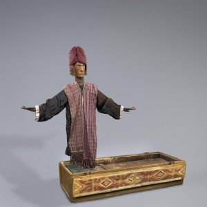 UCLA Fowler Museum Collection: X90.21a-j Funerary puppet (sigalegale) front
