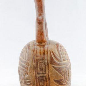 UCLA Fowler Museum Collection: X90.474 Moche vessel left view
