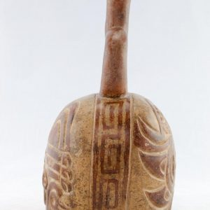 UCLA Fowler Museum Collection: X90.474 Moche vessel right view