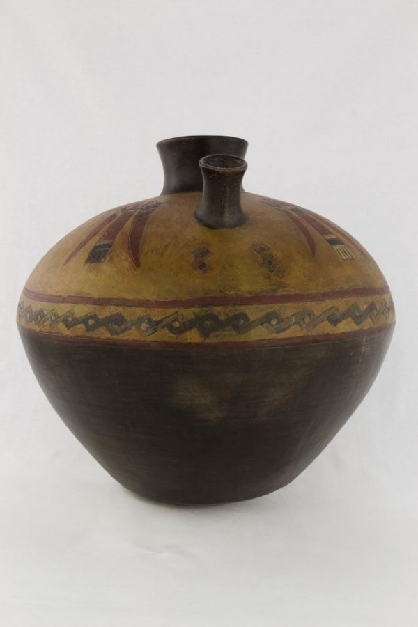 UCLA Fowler Museum Collection: X90.475 Paracas vessel front view