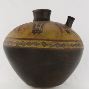 UCLA Fowler Museum Collection: X90.475 Paracas vessel right view