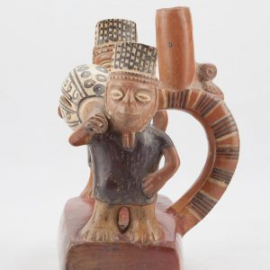 UCLA Fowler Museum Collection: X90.476 Chimu Inca vessel front view
