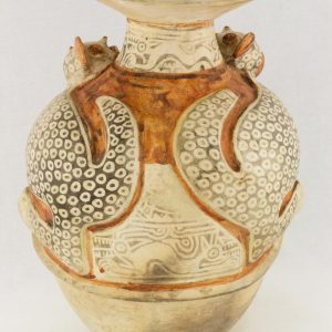 UCLA Fowler Museum Collection: X90.477 Recuay vessel back view