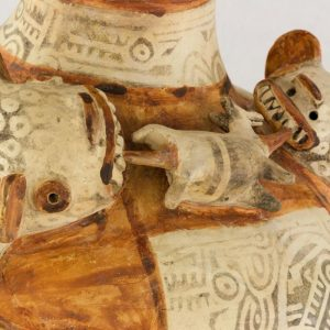UCLA Fowler Museum Collection: X90.477 Recuay vessel detailed view