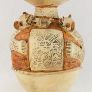 UCLA Fowler Museum Collection: X90.477 Recuay vessel front view