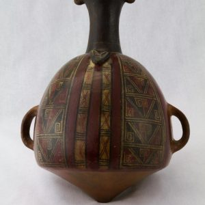 UCLA Fowler Museum Collection: X90.478 Provincial Inca vessel front view