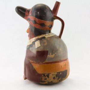 UCLA Fowler Museum Collection: X90.479 Proto Nasca Vessel front left view