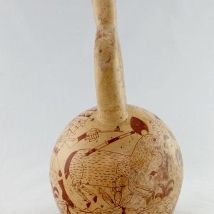 UCLA Fowler Museum Collection: X90.480 Moche vessel back right view