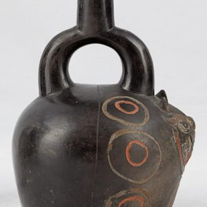UCLA Fowler Museum Collection: X90.481 Paracas Vessel right view