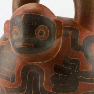 UCLA Fowler Museum Collection: X90.482 Chavin vessel detailed view