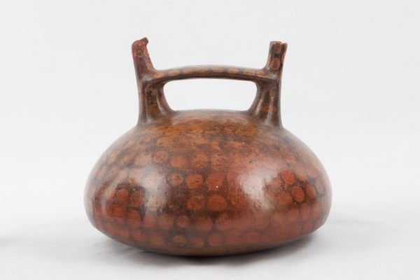 UCLA Fowler Museum Collection: X90.483 Paracas vessel front view