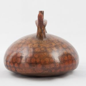 UCLA Fowler Museum Collection: X90.483 Paracas vessel right view
