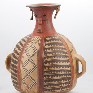 UCLA Fowler Museum Collection: X90.484 Chimu Inca vessel angle view