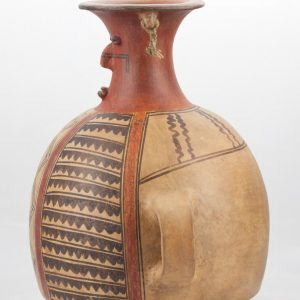 UCLA Fowler Museum Collection: X90.484 Chimu Inca vessel left view