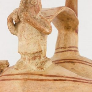 UCLA Fowler Museum Collection: X90.485 Lambayeque vessel detailed view