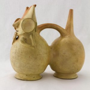 UCLA Fowler Museum Collection: X90.489 Salinar vessel left view
