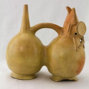 UCLA Fowler Museum Collection: X90.489 Salinar vessel right view