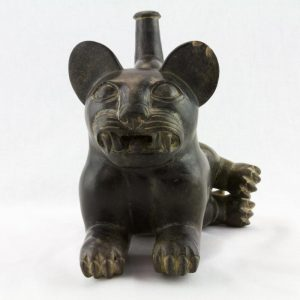 UCLA Fowler Museum Collection: X90.490 Moche vessel front view