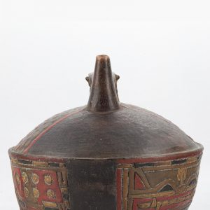 UCLA Fowler Museum Collection: X90.491 Paracas vessel back view