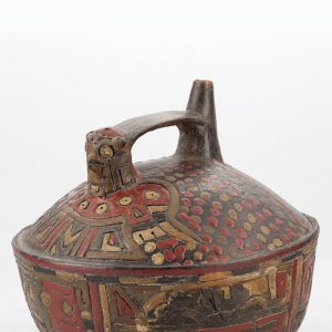 UCLA Fowler Museum Collection: X90.491 Paracas vessel angle view