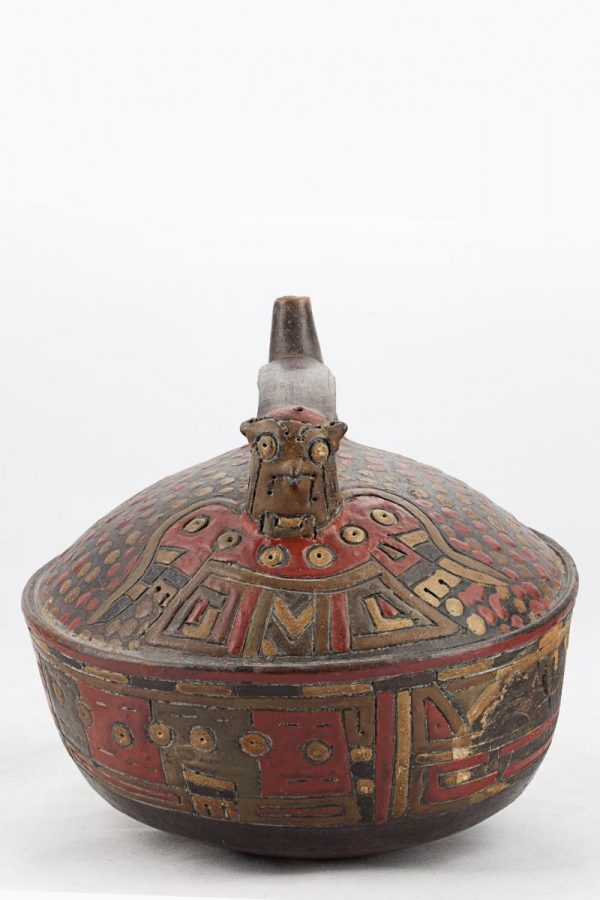 UCLA Fowler Museum Collection: X90.491 Paracas vessel front view